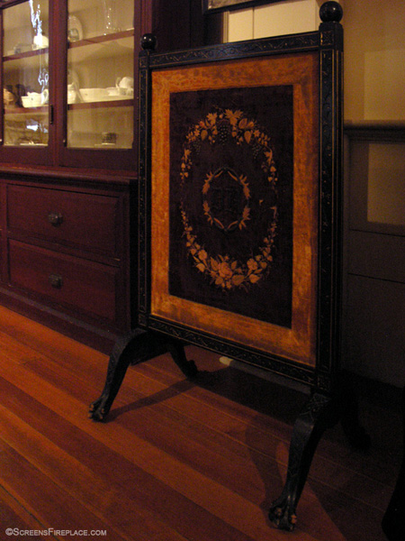 Antique Fireplace Screen (Massachusetts)