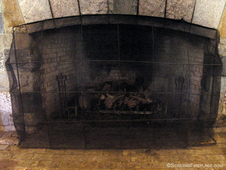 Mount Washington Hotel Fireplace Screen (New Hampshire)